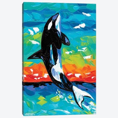Ocean Friends I Canvas Print #VIT84} by Carolee Vitaletti Canvas Art