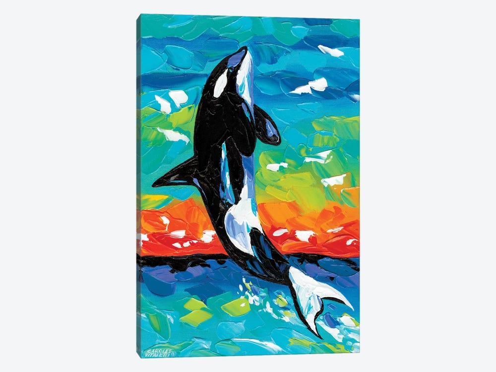 Ocean Friends I by Carolee Vitaletti 1-piece Canvas Art
