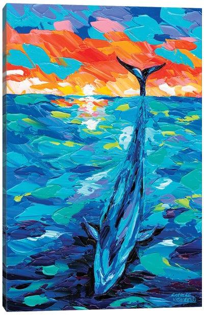 Ocean Friends II Canvas Art Print