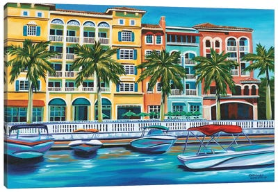 Tropical Rendezvous I Canvas Art Print