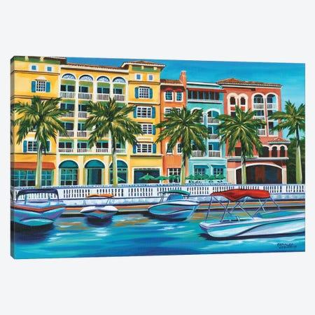 Tropical Rendezvous I Canvas Print #VIT88} by Carolee Vitaletti Canvas Print