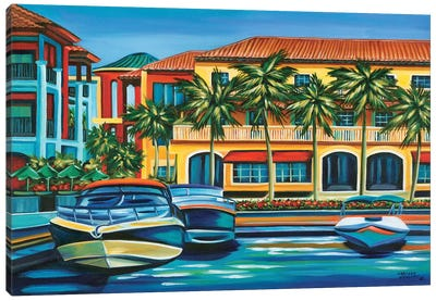 Tropical Rendezvous II Canvas Art Print