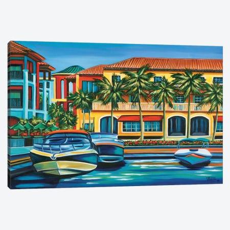 Tropical Rendezvous II Canvas Print #VIT89} by Carolee Vitaletti Canvas Print