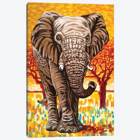 Wild Africa I Canvas Print #VIT90} by Carolee Vitaletti Canvas Artwork
