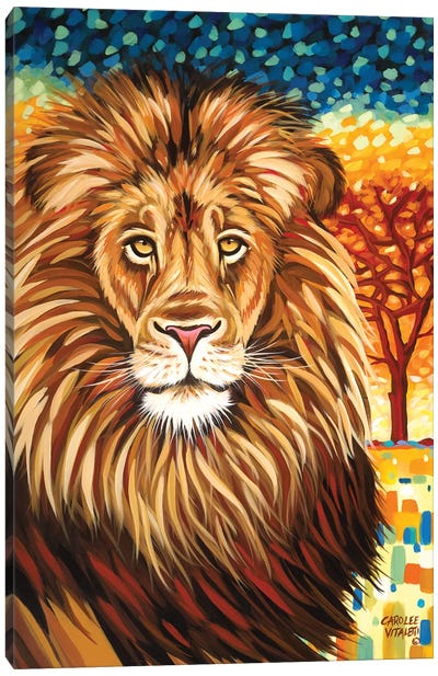 Wild Africa II by Carolee Vitaletti Canvas Art Print