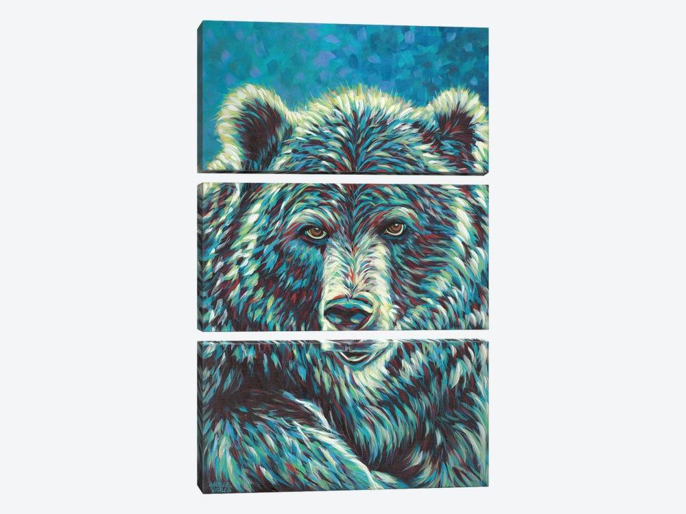 Spirit Animal I by Carolee Vitaletti 3-piece Canvas Print