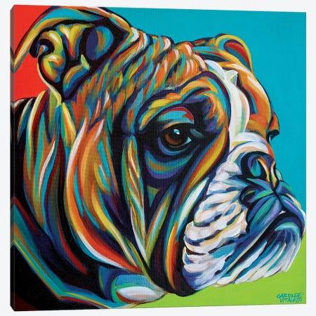 Dog Friend I Canvas Print #VIT96} by Carolee Vitaletti Canvas Print