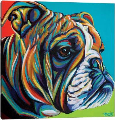 Dog Friend I Canvas Art Print