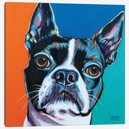 Dog Friend III 3-Piece Canvas #VIT98} by Carolee Vitaletti Canvas Art