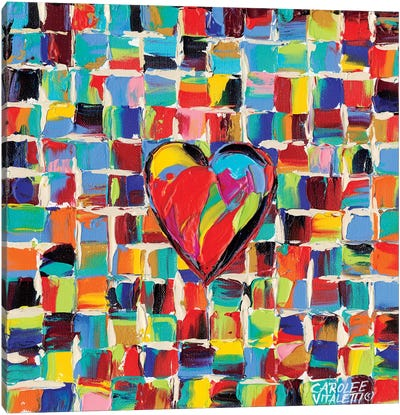 Love Of Color I by Carolee Vitaletti Canvas Art Print