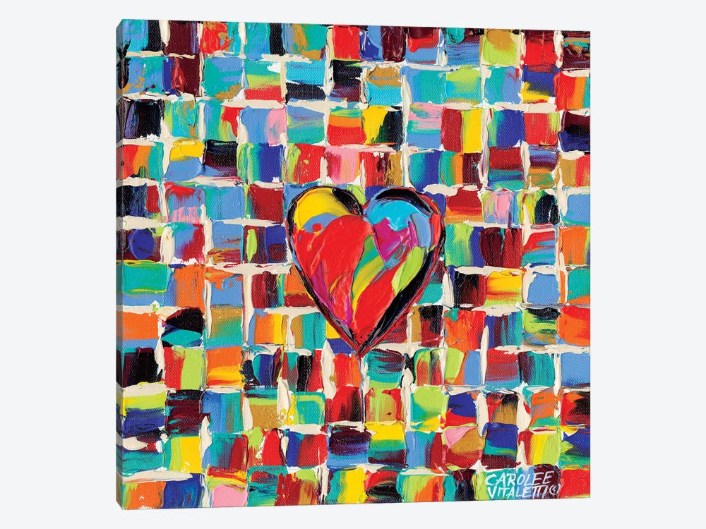 Love Of Color I by Carolee Vitaletti 1-piece Canvas Artwork