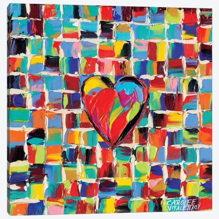 Love Of Color I Canvas Print #VIT9} by Carolee Vitaletti Canvas Artwork