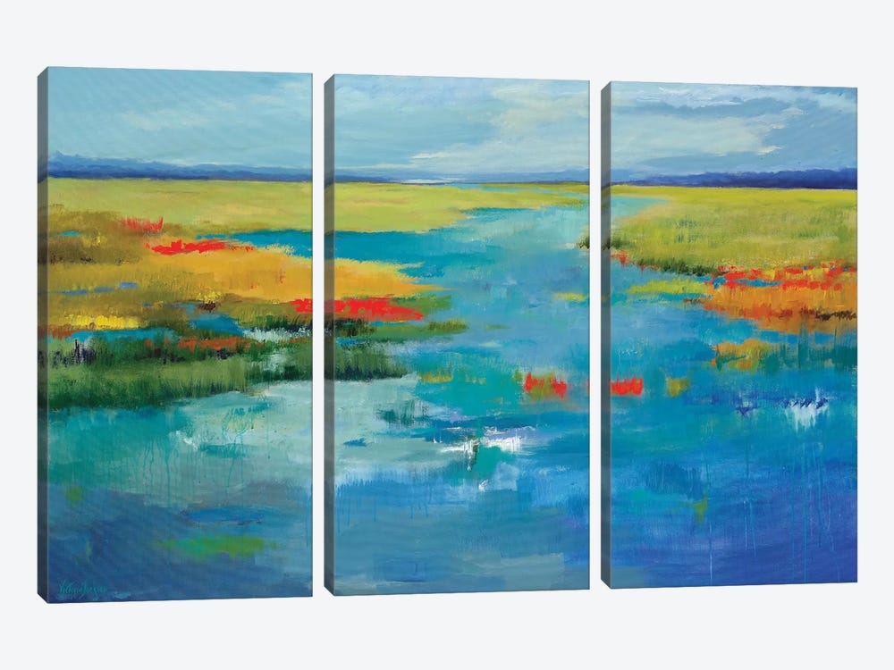 Come Away With Me by Victoria Jackson 3-piece Canvas Print
