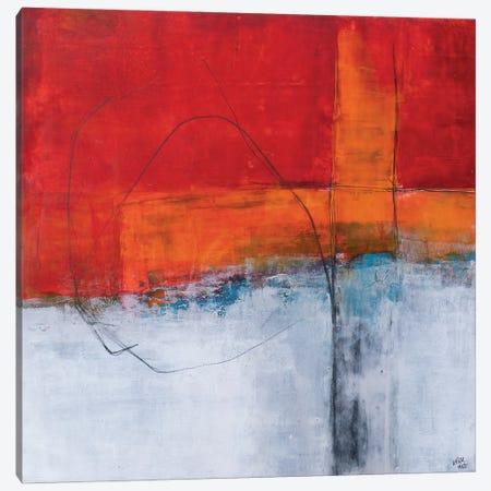 A Little Red II Canvas Print #VJC24} by Vera Jochum Art Print
