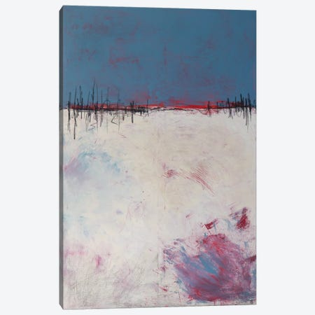 Red Horizon Canvas Print #VJC51} by Vera Jochum Canvas Print