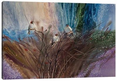Bush Of Viburnum Canvas Art Print