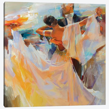 Evening Waltz Canvas Print #VKH16} by Vasyl Khodakivskyi Canvas Wall Art