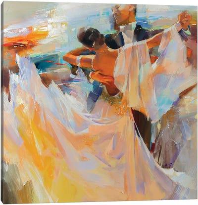 Evening Waltz Canvas Art Print