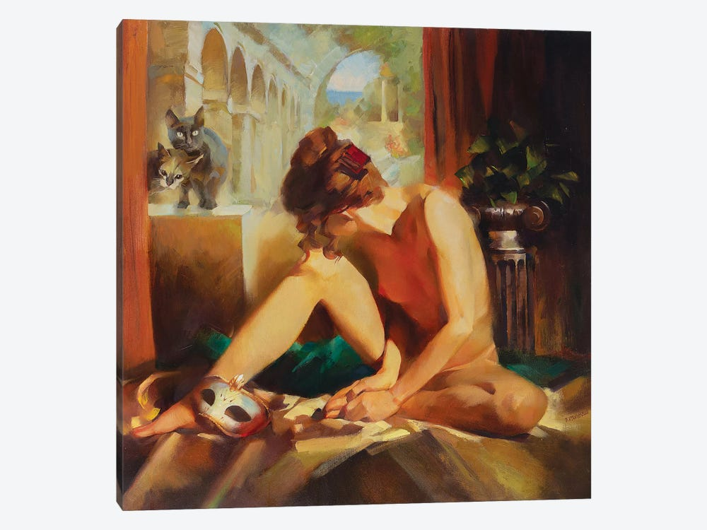 Guests Are Coming by Vasyl Khodakivskyi 1-piece Canvas Print