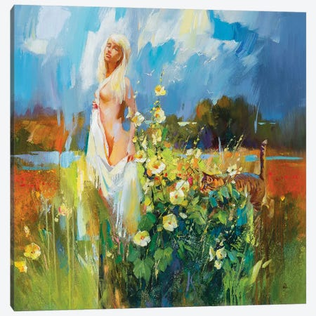 Hot August Canvas Print #VKH24} by Vasyl Khodakivskyi Canvas Print