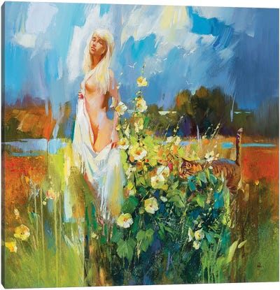 Hot August Canvas Art Print