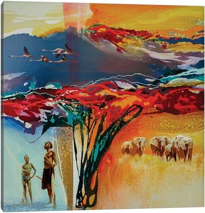 Africa II Canvas Art Print