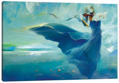 Moon Sonata Canvas Art Print