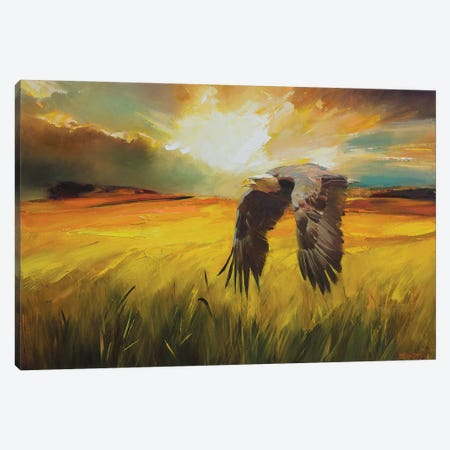 Predator Canvas Print #VKH35} by Vasyl Khodakivskyi Canvas Art