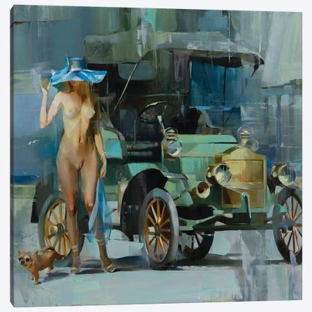 Retro Canvas Print #VKH39} by Vasyl Khodakivskyi Canvas Print