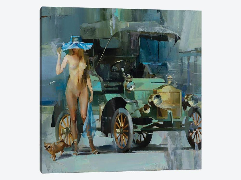Retro by Vasyl Khodakivskyi 1-piece Art Print