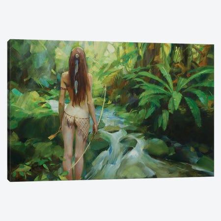 Amazon Canvas Print #VKH3} by Vasyl Khodakivskyi Art Print