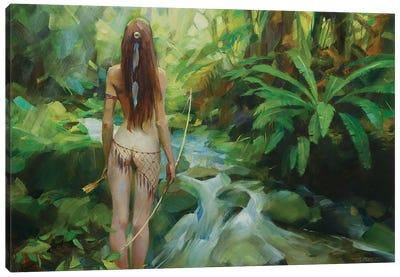 Amazon Canvas Art Print