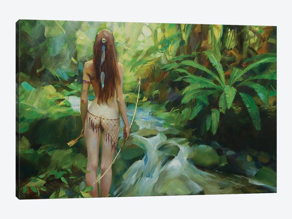 Amazon by Vasyl Khodakivskyi 1-piece Canvas Art Print