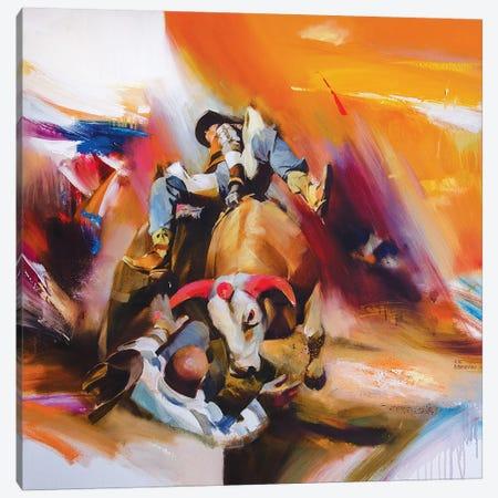 Rodeo Canvas Print #VKH40} by Vasyl Khodakivskyi Canvas Artwork