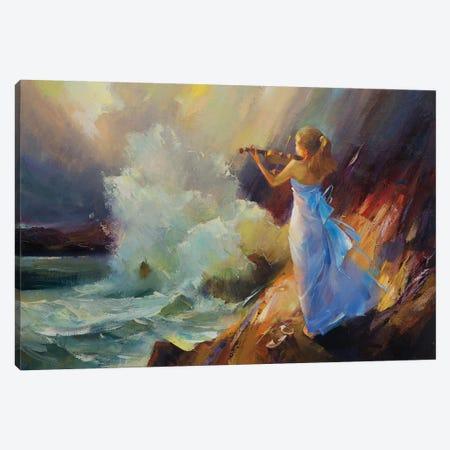 Sea Suite. Canvas Print #VKH41} by Vasyl Khodakivskyi Canvas Wall Art