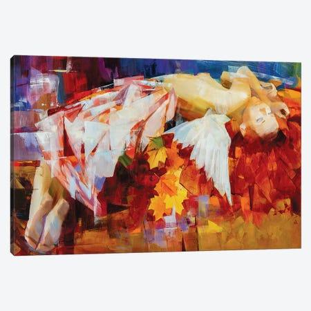 Seasons Of The Year - Autumn Canvas Print #VKH42} by Vasyl Khodakivskyi Canvas Artwork