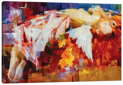Seasons Of The Year - Autumn Canvas Art Print