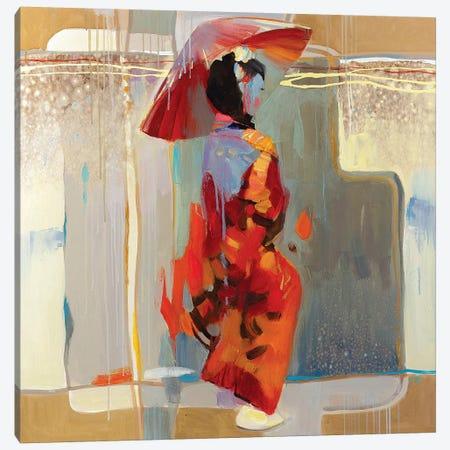Shanghai Rain Canvas Print #VKH46} by Vasyl Khodakivskyi Canvas Art Print