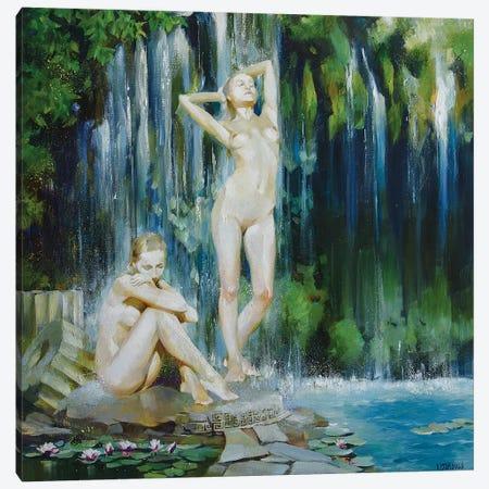Spring Well Canvas Print #VKH47} by Vasyl Khodakivskyi Canvas Print