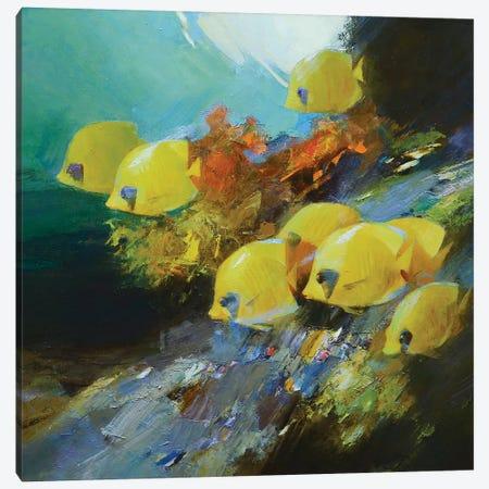 Among The Corals Canvas Print #VKH4} by Vasyl Khodakivskyi Canvas Art