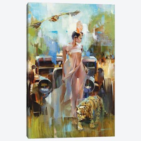 Voodoo Girl Canvas Print #VKH55} by Vasyl Khodakivskyi Canvas Artwork