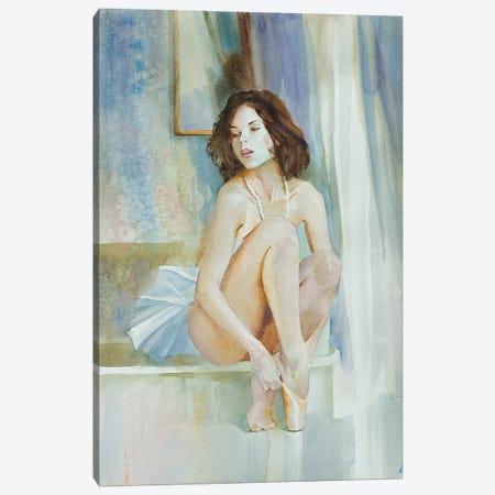Young Ballerina Canvas Print #VKH56} by Vasyl Khodakivskyi Canvas Wall Art