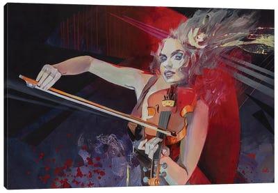 Expression Canvas Art Print