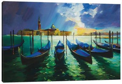 Autumn In Venice Canvas Art Print