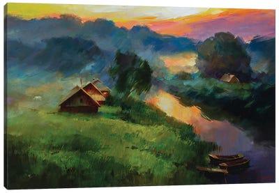 Baths Canvas Art Print