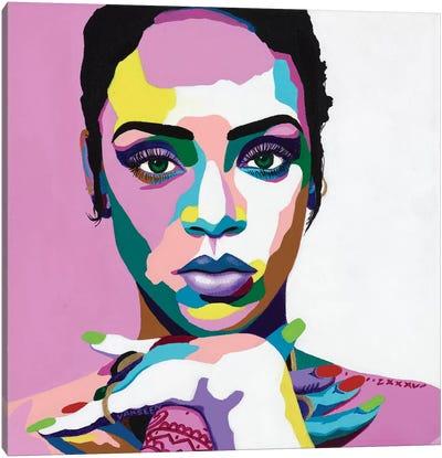 Love On The Brain Canvas Art Print