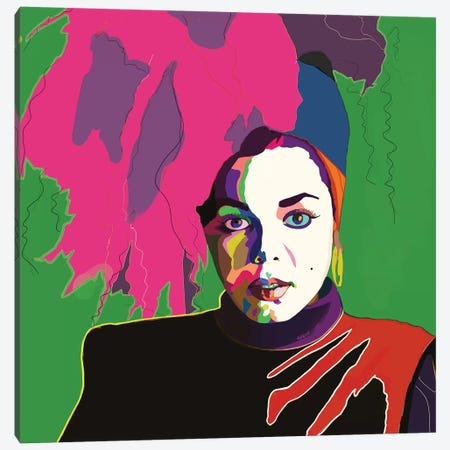 Miss Jackson If You're Nasty Canvas Print #VKS12} by Vakseen Canvas Art