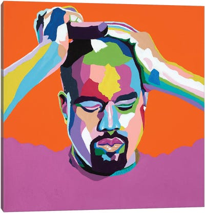 Mood Kanye Canvas Art Print