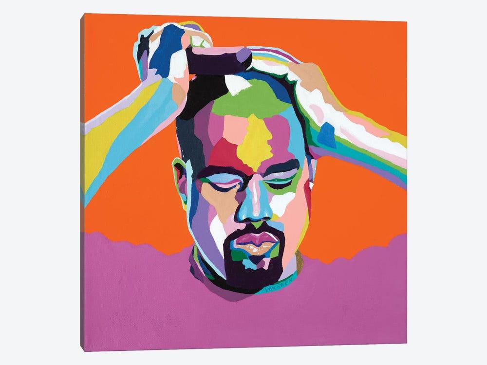 Mood Kanye by Vakseen 1-piece Art Print