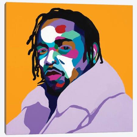 Mortal Man Canvas Print #VKS14} by Vakseen Canvas Print